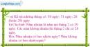 Tiết 21 Bài 1, bài 2  trang 26 sgk Toán 4