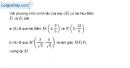 Bài 3.33 trang 164 SBT hình học 10
