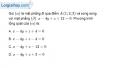 Bài 3.69 trang 135 SBT hình học  12