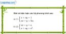 Bài 11 trang 215 SBT đại số 10