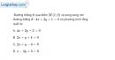 Bài 3.69 trang 169 SBT hình học 10