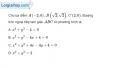 Bài 3.77 trang 170 SBT hình học 10