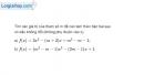 Bài 4.62 trang 122 SBT đại số 10