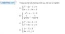 Bài 4.84 trang 126 SBT đại số 10