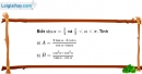 Bài 6.10 trang 189 SBT đại số 10