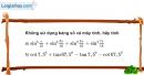 Bài 6.20 trang 194 SBT đại số 10