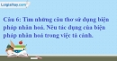 A. Hoạt động cơ bản - Bài 7B: Âm thanh cuộc sống