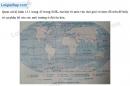 Bài 1 trang 13 Tập bản đồ Địa lí 7