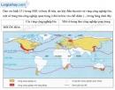 Bài 1 trang 14 Tập bản đồ Địa lí 7 - Bài 15