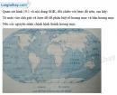 Bài 1 trang 18 Tập bản đồ Địa lí 7