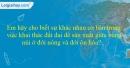 Bài 2 trang 20 Tập bản đồ Địa lí 7 - Bài 24