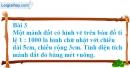 Bài 3, 4 trang 31 SGK Toán 5