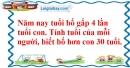 Bài 3, 4 trang 32 (Luyện tập chung trang 31, 32) SGK Toán 5