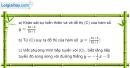 Bài 9 trang 217 SBT giải tích 12
