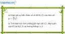 Bài 3 trang 216 SBT giải tích 12