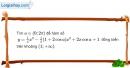 Bài 6 trang 216 SBT giải tích 12