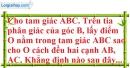 Bài 6.1, 6.2, 6.3, 6.4 phần bài tập bổ sung trang 47 SBT toán 7 tập 2