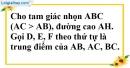 Bài 4 trang 184 SBT toán 8 tập 2
