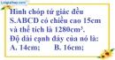 Bài 10 trang 184 SBT toán 8 tập 2