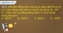 Bài 36.6, 36.7, 36.8, 36.9 trang 88 SBT Vật lí 10