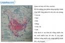 Bài 2 trang 33 Tập bản đồ Địa lí 7