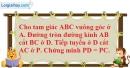 Bài 29 trang 105 SBT toán 9 tập 2