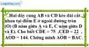 Bài 30 trang 105 SBT toán 9 tập 2