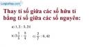 Bài 44 trang 26 sgk toán 7 tập 1