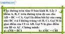 Bài 5.2 phần bài tập bổ sung trang 105 SBT toán 9 tập 2