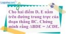 Bài 55 trang 47 SBT toán 7 tập 2