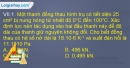 Bài VII.1, VII.2, VII.3, VII.4, VII.5 trang 94,95 SBT Vật lí 10