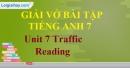 Reading  - Unit 7 VBT tiếng anh 7 mới