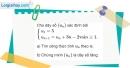 Bài 3.11 trang 118 SBT đại số và giải tích 11