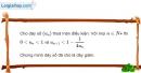 Bài 3.14 trang 118 SBT đại số và giải tích 11