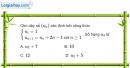 Bài 3.15 trang 118 SBT đại số và giải tích 11