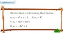 Bài 3.16 trang 118 SBT đại số và giải tích 11