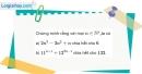 Bài 3.3 trang 107 SBT đại số và giải tích 11