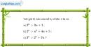 Bài 3.5 trang 107 SBT đại số và giải tích 11