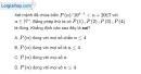 Bài 3.7 trang 107 SBT đại số và giải tích 11