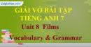 Vocabulary & Grammar - Unit 8 VBT Tiếng Anh 7 mới