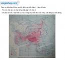 Bài 1 trang 4 Tập bản đồ Địa lí 8