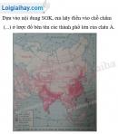 Bài 1 trang 9 Tập bản đồ Địa lí 8