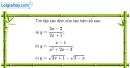 Bài 1 trang 38 SGK Đại số 10