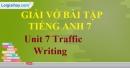 Writing  - Unit 7 VBT tiếng anh 7 mới