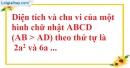 Bài 1 trang 163 SBT toán 9 tập 2