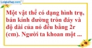 Bài 6 trang 164 SBT toán 9 tập 2