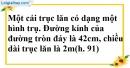 Bài 9 trang 165 SBT toán 9 tập 2