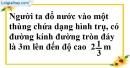 Bài 11 trang 165 SBT toán 9 tập 2