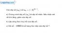 Bài 3.27 trang 131 SBT đại số và giải tích 11