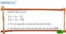 Bài 3.28 trang 131 SBT đại số và giải tích 11